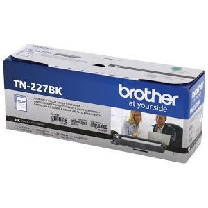 Genuine Brother TN227BK High Capacity Black Toner Cartridge
