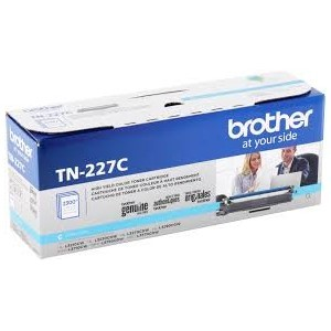 Genuine Brother TN227C High Capacity Cyan Toner Cartridge