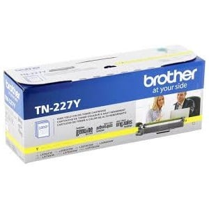 Genuine Brother TN227Y High Capacity Yellow Toner Cartridge