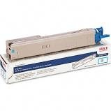 Genuine Okidata 43459303 High Yield Cyan Toner Cartridge