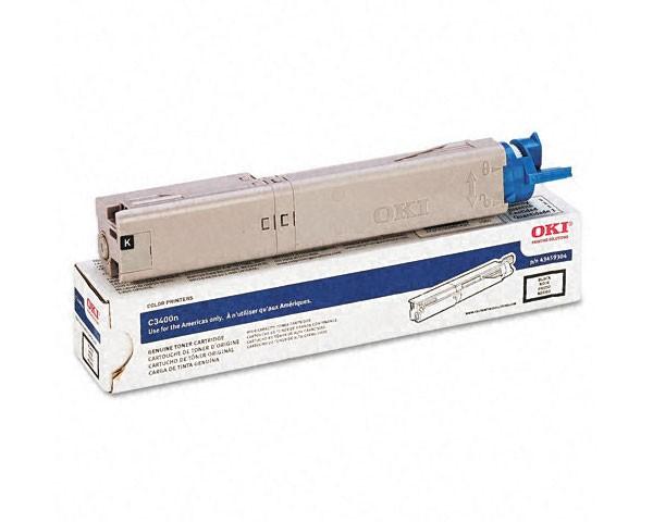 Genuine Okidata 43459304 High Yield Black Toner Cartridge
