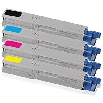 ReChargX® Okidata 43459304, 43459303, 43459302 and 43459301 High Yield Toner Cartridges