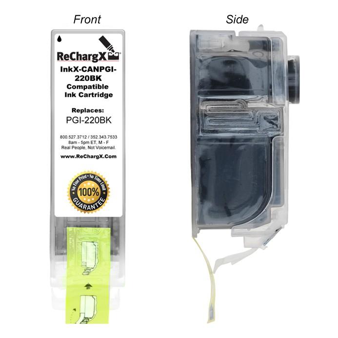 ReChargX High-Yield Black Pigment Ink Cartridge