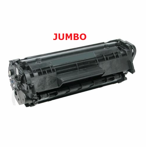ReChargX® HP Q2612A (12A) & Canon 104 (0263B001) Extra High Capacity Toner Cartridge