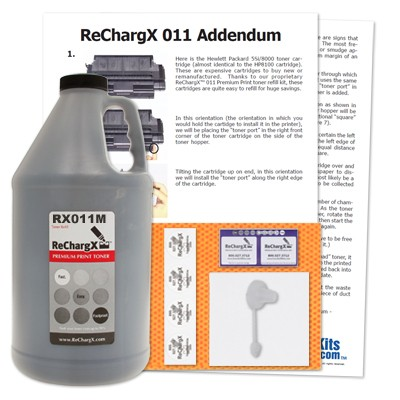 ReChargX MICR Toner Refill Kit