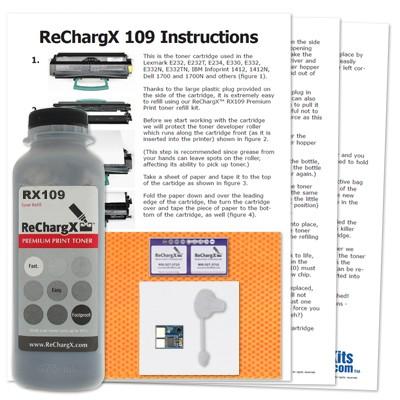 ReChargX Toner Refill Kit