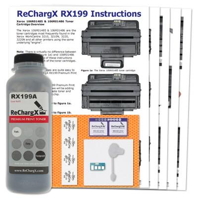 hp toner cartridge refill instructions
