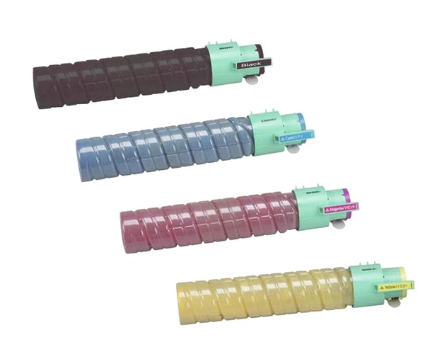 ReChargX® Ricoh Type 145 High Yield Black, Cyan, Magenta & Yellow Toner Cartridge