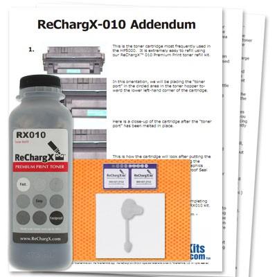 ReChargX® HP C4129X (29X), Canon EP-62 Toner Refill Kit