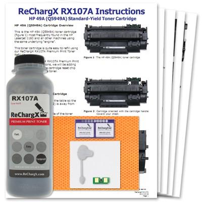 ReChargX HP Q5949A Standard-Yield Toner Refill Kit