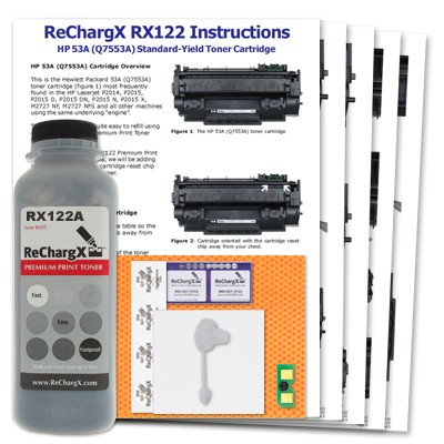 ReChargX Standard-Yield Toner Refill Kit
