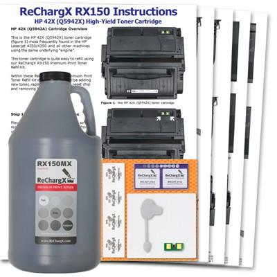 ReChargX High-Yield MICR Toner Refill Kit
