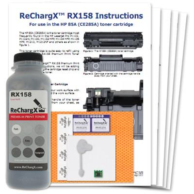 ReChargX HP CE285A (85A) Toner Refill Kit