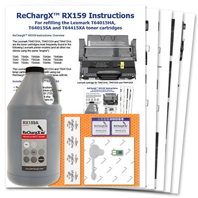 ReChargX Standard-Yield Toner Refill Kit