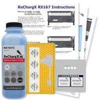 ReChargX® Samsung CLT-C409S Cyan Toner Refill Kit