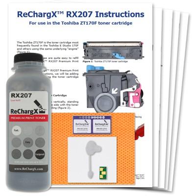 ReChargX Toner Refill Kits (5 pack)