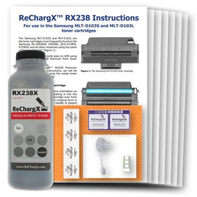 ReChargX High-Yield Toner Refill Kit