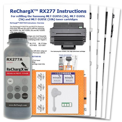 ReChargX® Samsung 205 High-Yield Toner Refill Kit
