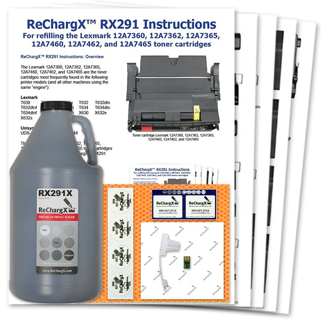 ReChargX Extra High-Yield Toner Refill Kit