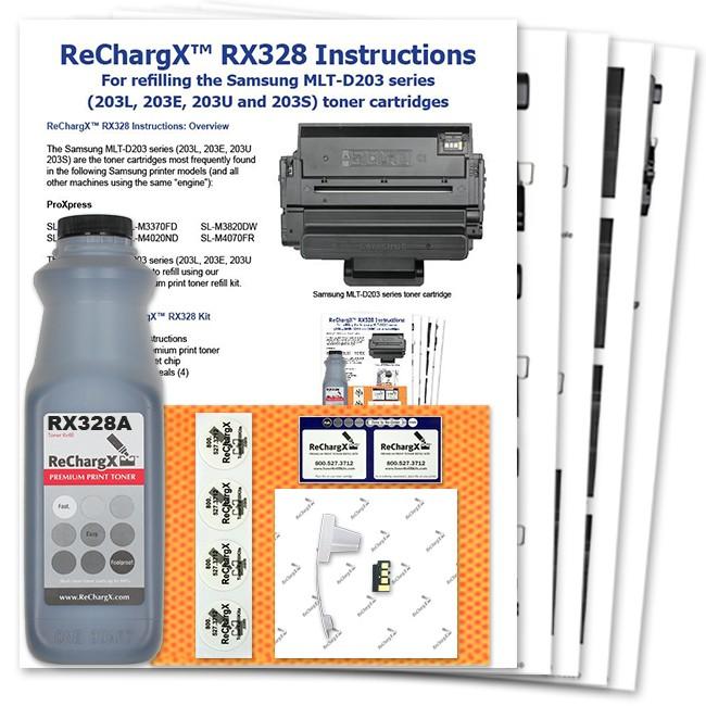 ReChargX Extra High-Yield Toner Refill Kit