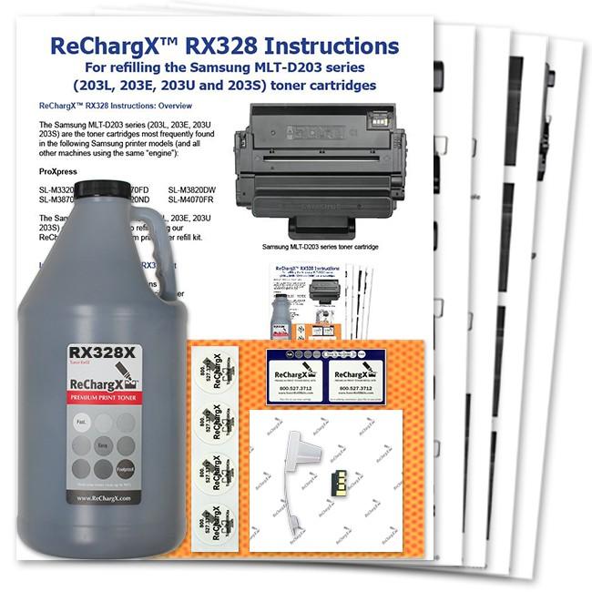 ReChargX Ultra High-Yield Toner Refill Kit
