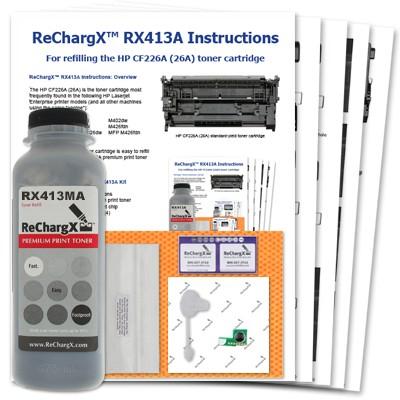 ReChargX Standard-Yield MICR Toner Refill Kit