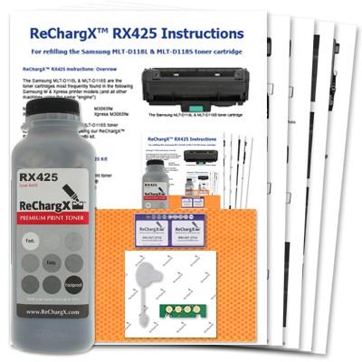 ReChargX Samsung MLT-D118L & MLT-D118S Toner Refill Kit