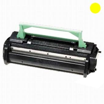 Empty Yellow Toner Cartridge