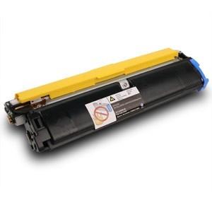Empty Cyan Toner Cartridge