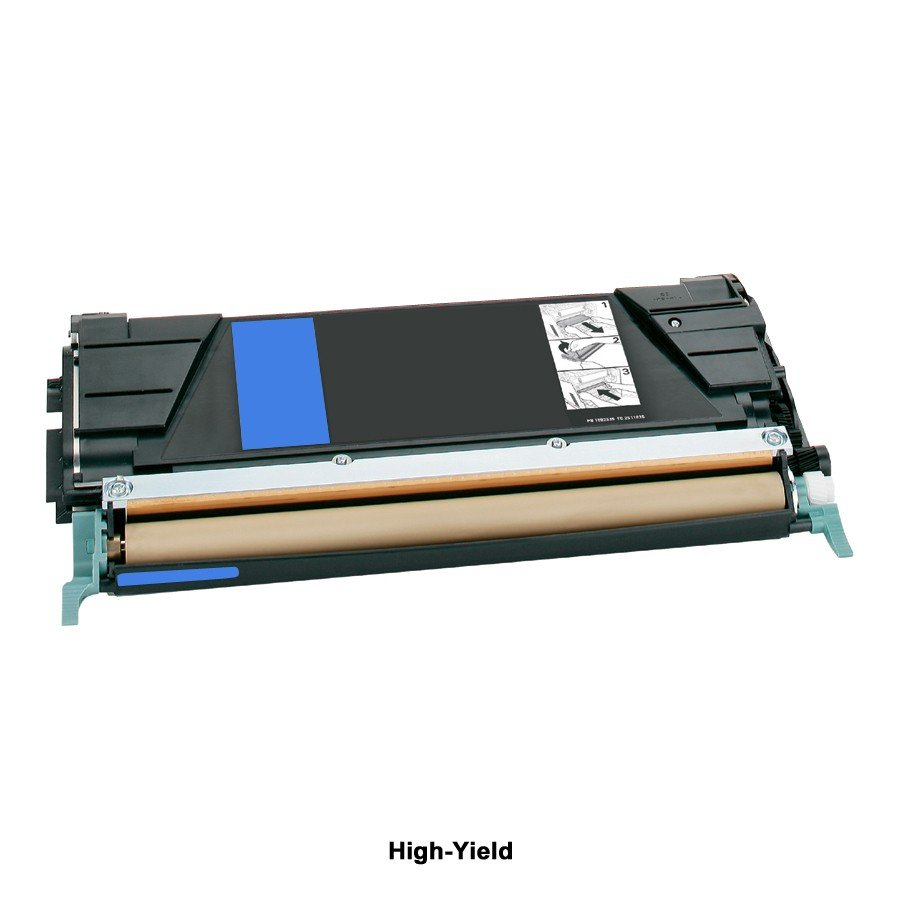 Compatible High-Yield Cyan Toner Cartridge