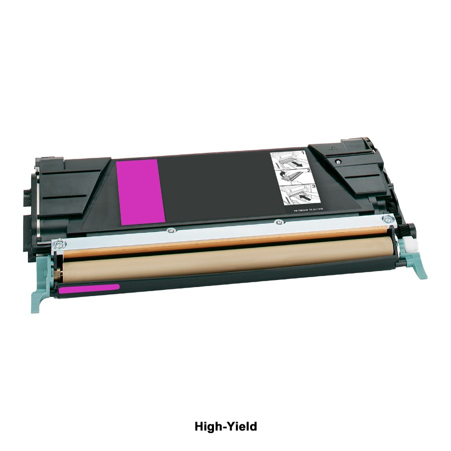 Compatible High-Yield Magenta Toner Cartridge