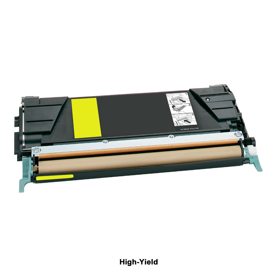 Compatible High-Yield Yellow Toner Cartridge