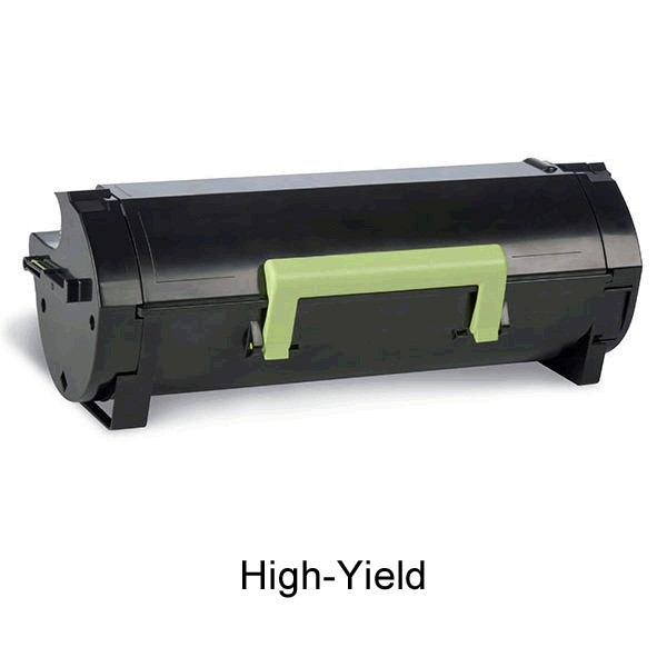 ReChargX® Lexmark 601H (60F0HA0,60F1H00) High-Yield Toner Cartridge