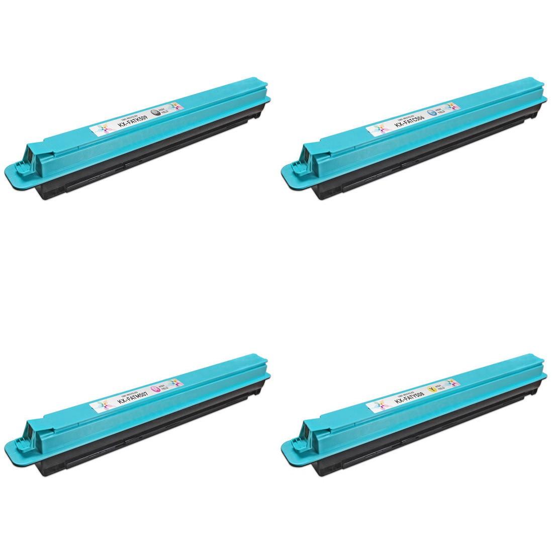 ReChargX B/C/M/Y Toner Cartridges (4 Pack)