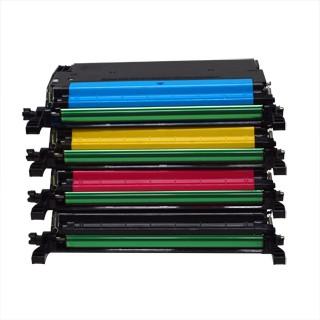 ReChargX Samsung 609 High-Yield Black, Cyan, Magenta & Yellow Toner Cartridges (4/Pack)
