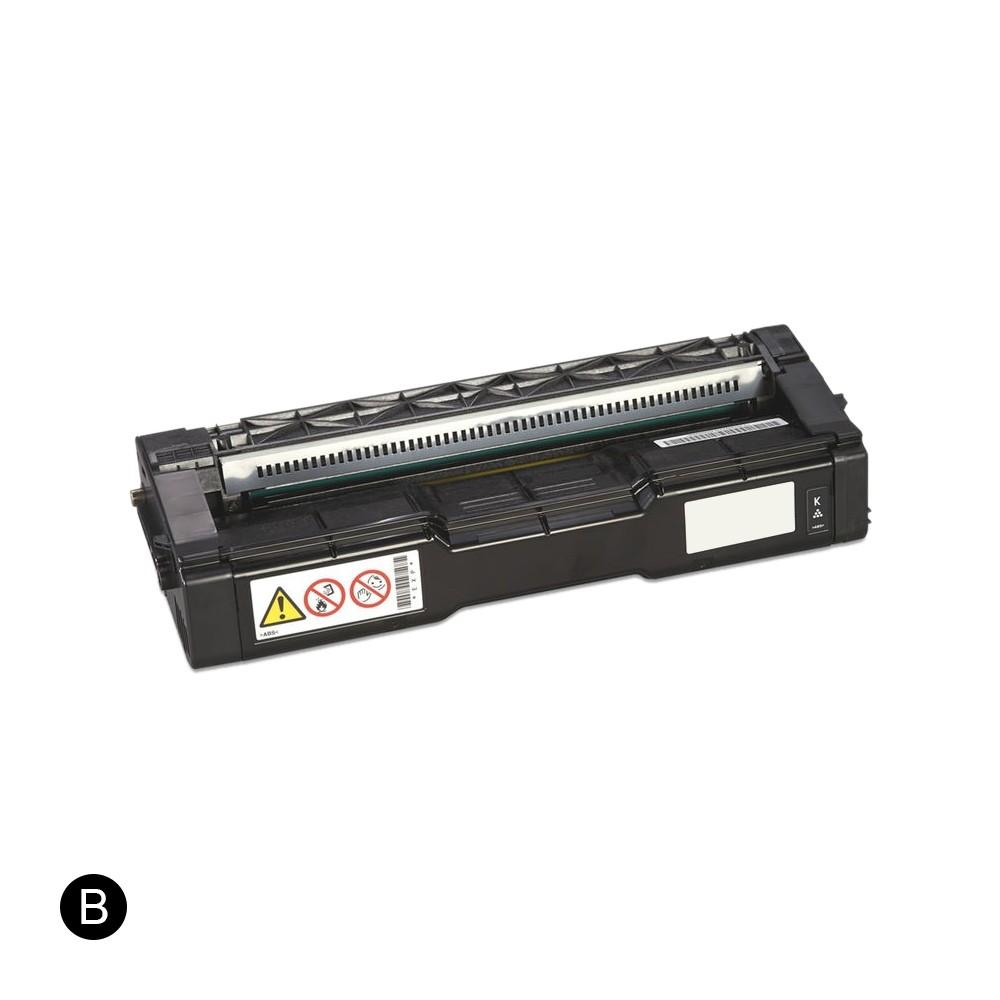 ReChargX Ricoh 407539 Black Toner Cartridge