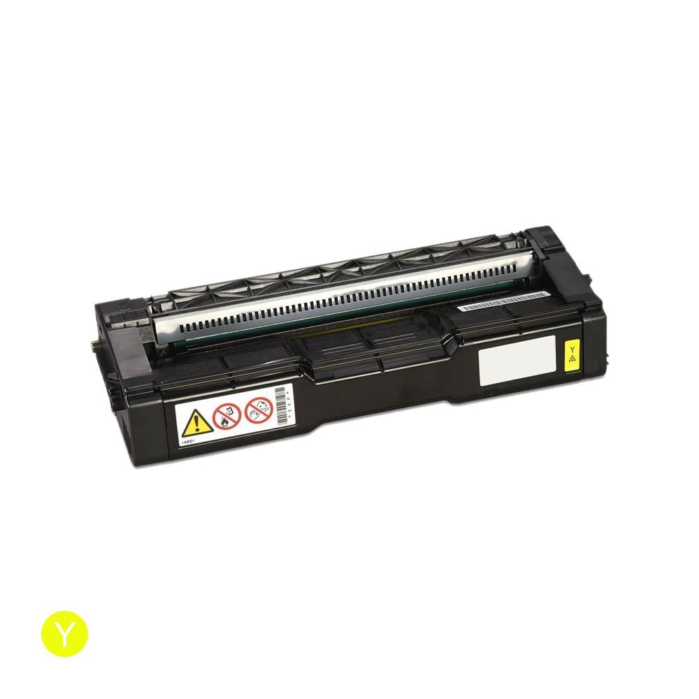 ReChargX Ricoh 407542 Yellow Toner Cartridge