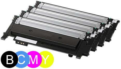 ReChargX B/C/M/Y Toner Cartridges