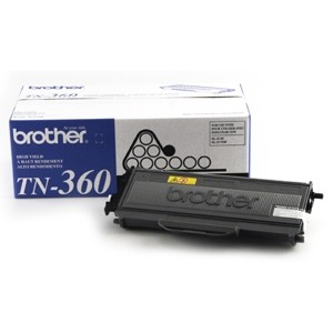 Genuine Brother TN360 High-Yield Toner Cartridge