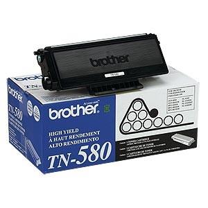 Genuine Brother TN580 High Yield Toner Cartridge