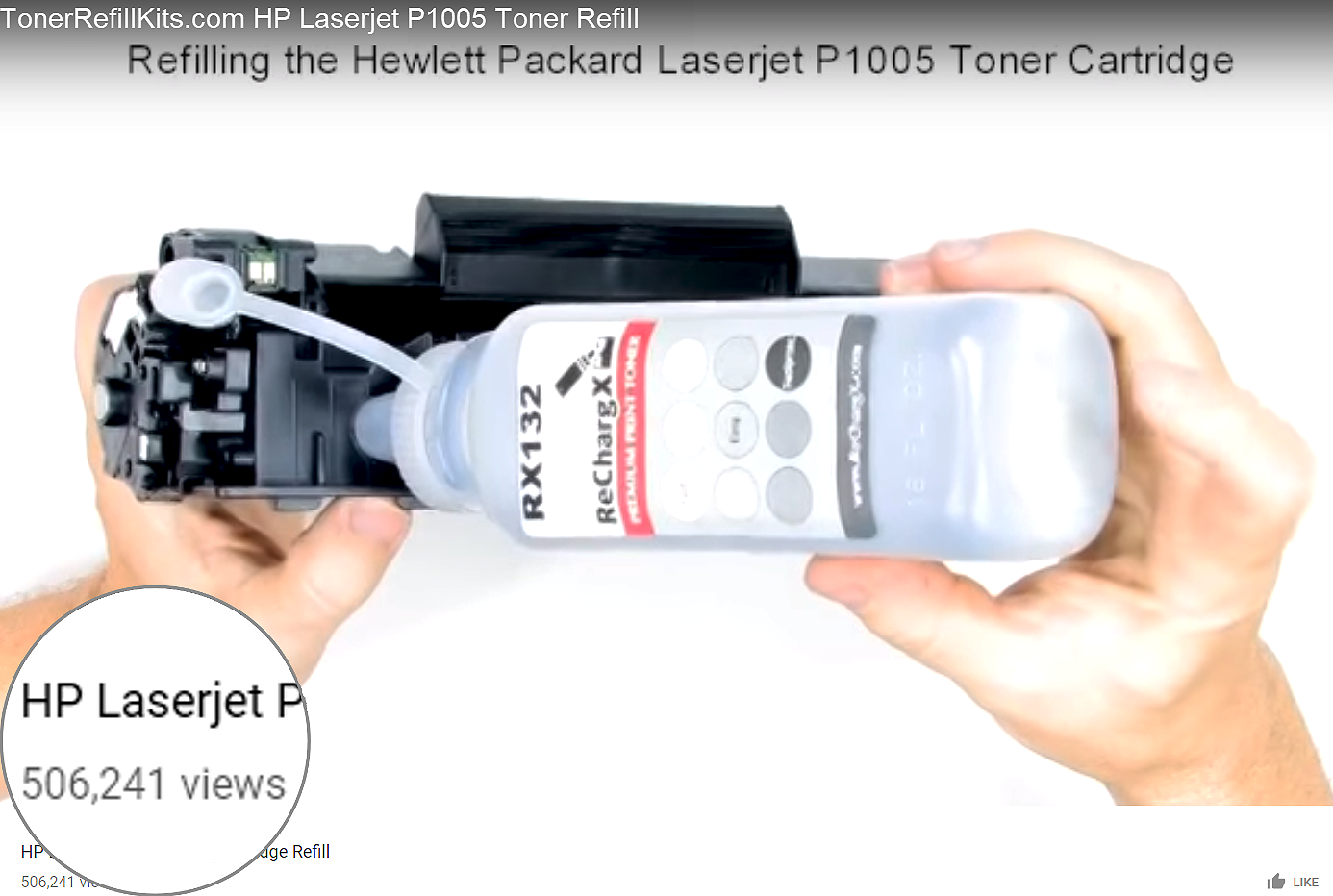 506,000+ people watch a video about toner?