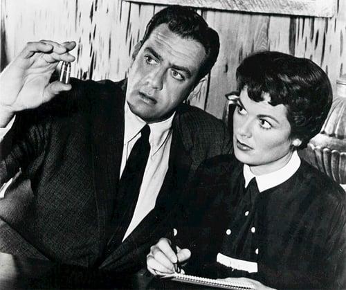 "Barbara Hale, aka ""Della Street"""