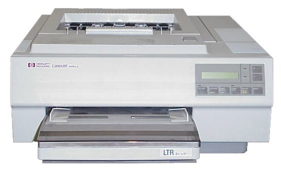HP LaserJet Series II - the beginning