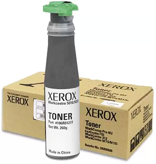 Xerox toner (since all toner is the same, right?)